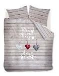 Ambiante - Happy Hearts Naturel 140x220