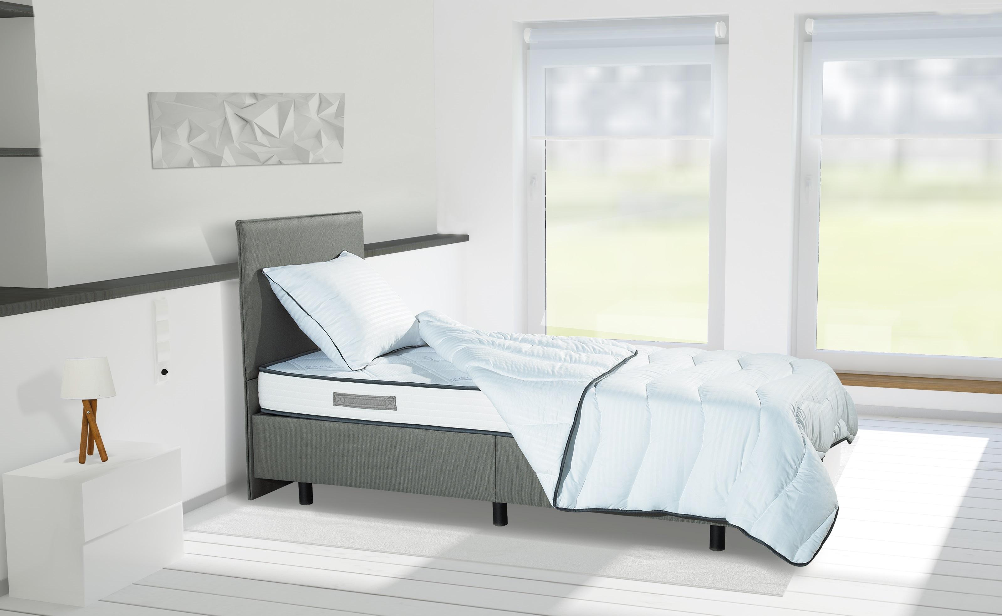 Aanbieding max sleep matras met boxbed dekbed kussen