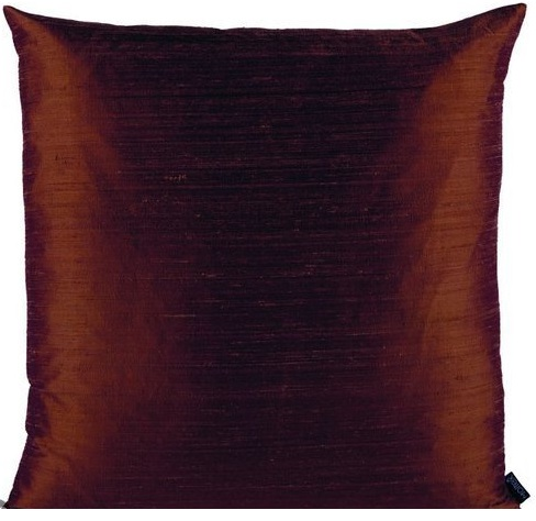 Moltex Cushion Dupion Silk Brown