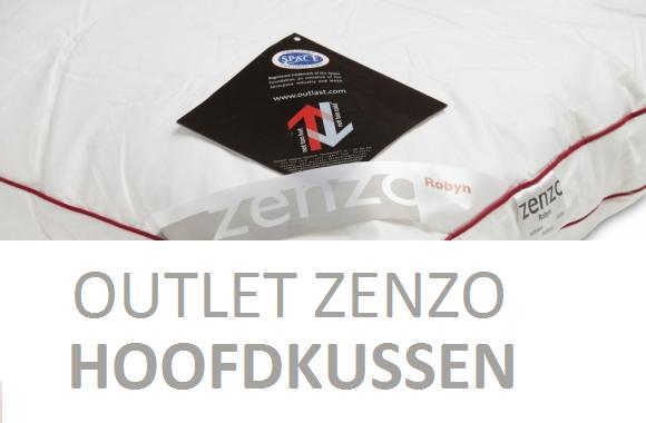 Outlet 2e keus Zenzo Robijn Dons Kussen